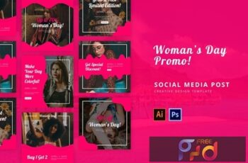 Womans Day Social Media Post RZ7NPJ9 8