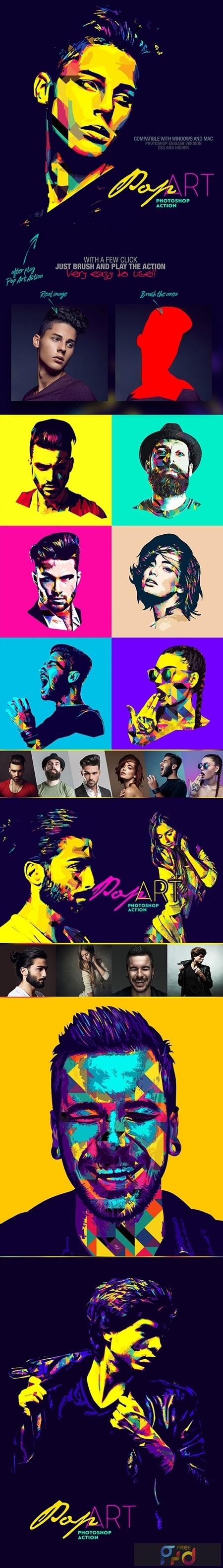 Pop Art Photoshop Action 25885056 1