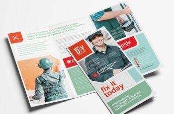 Diy Handyman Trifold Brochure Layout 324308613 13