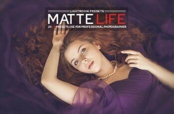 20 Matte Life Lightroom Presets 23120738 3
