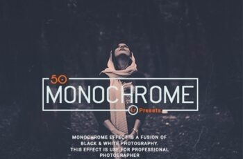 50 Monochrome Lightroom Presets 22854119 4