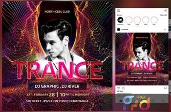 Trance Flyer 4579815 4