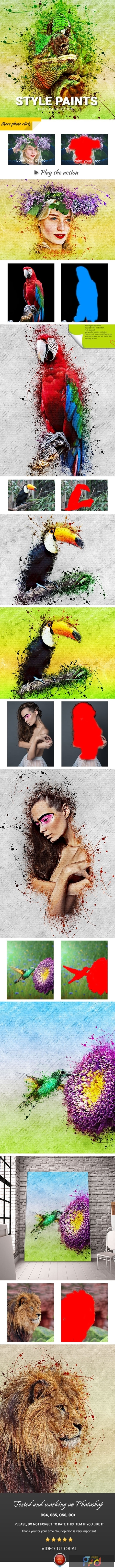Style Paints Photoshop Action 25674415 1