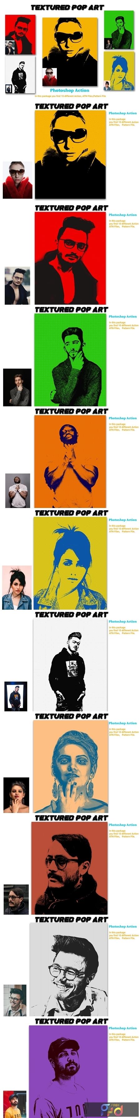 Textured Pop Art Photoshop Action 4578289 1