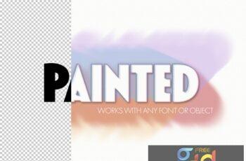 Paint Brushtroke Text Effect 322370767 10