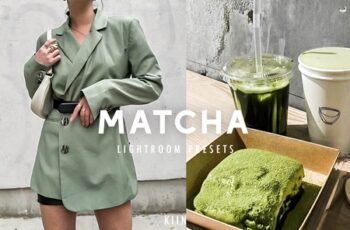 10 MATCHA GREEN LIGHTROOM PRESETS 4609006