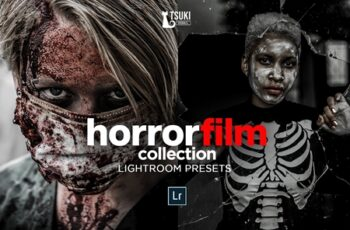 HORROR FILM Lightroom Presets 4628246 3