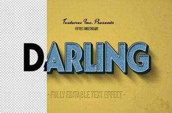 Vintage Text Effect Mockup Bundle 318976879 2