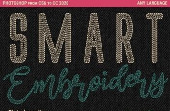 Smart Embroidery - Photoshop Action 25827222 2