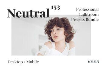 153 Neutral Presets Lightroom Bundle 4626123 2