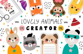 Lovely Animals Creator 3008374 7