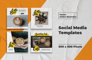 Coffe Instagram Templates 3008184 7