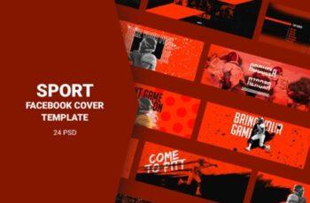 Sport Facebook Cover Templates 3008115 4