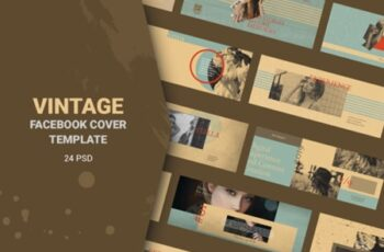 Vintage Facebook Cover Templates 3008114 5