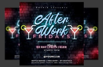 Night Club Flyer Template 4588454 8