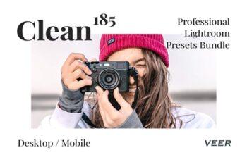 185 Clean Presets Lightroom Bundle 4505081 7