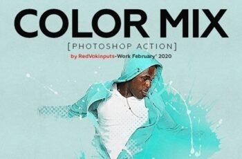 Color Mix Photoshop Action 25761920 2