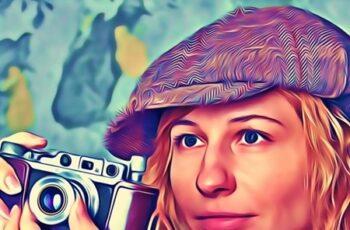 Magic Portrait Oil Paint Action 25708894 2
