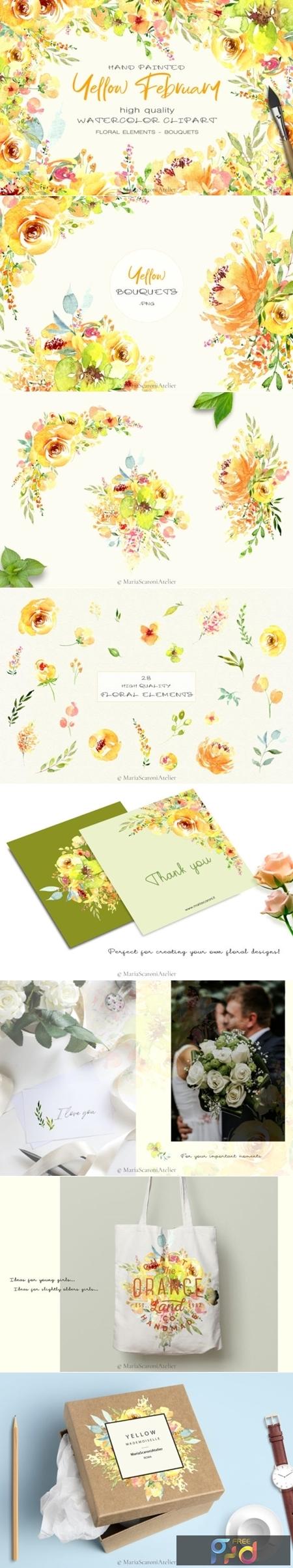 Watercolor Flowers 3016297 1