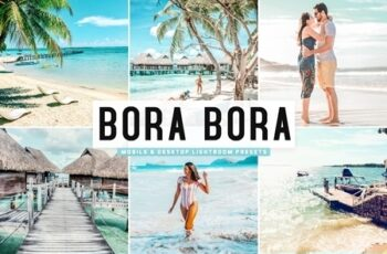 Bora Bora Lightroom Presets Pack 4667569 3