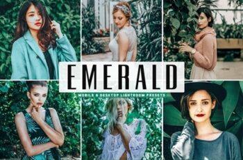 Emerald Lightroom Presets Pack 4663808 3