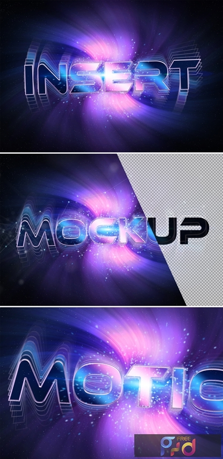Rotating Purple Text Effect Mockup 327061825 1