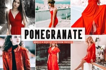 Pomegranate Lightroom Presets Pack 4657816