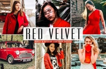 Red Velvet Lightroom Presets Pack 4664414 5