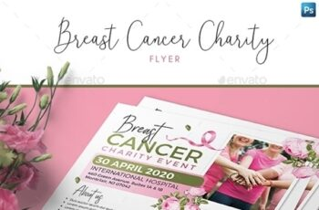 Breast Cancer Charity Flyer 24959463 7