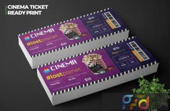 Cinema Movie Ticket ZJ5WVB8 3