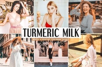 Turmeric Milk Lightroom Presets Pack 4667278 3