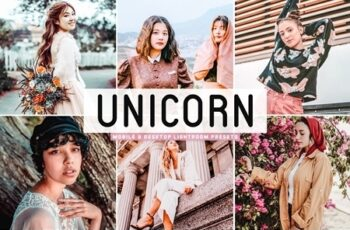 Unicorn Lightroom Presets Pack 4658620 6