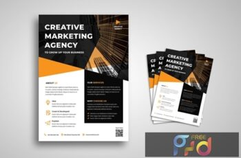 Creative Agency Flyer QSK4YUF 2