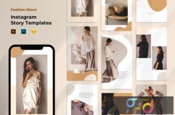 Instagram Story Template - Fashion Liquid Pastel LUGYK9C 8
