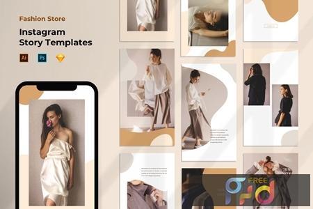 Instagram Story Template - Fashion Liquid Pastel LUGYK9C 1