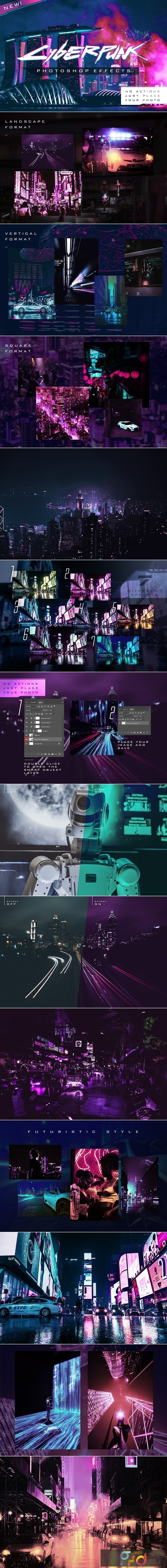 Cyberpunk Photoshop Effects 4570682 1