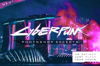 Cyberpunk Photoshop Effects 4570682 5