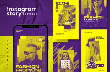 Instagram Story Template 3483496 6