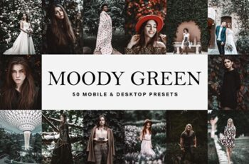 50 Moody Green Lightroom Presets 4653523 2