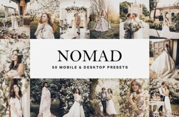 50 Nomad Lightroom Presets and LUTs 4654878 3