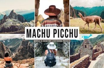 Machu Picchu Mobile & Desktop Lightroom Presets 4655824 4