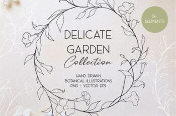 Delicate Botanic Garden 3586599 3