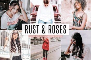 Rust & Roses Mobile & Desktop Lightroom Presets 4655689 3