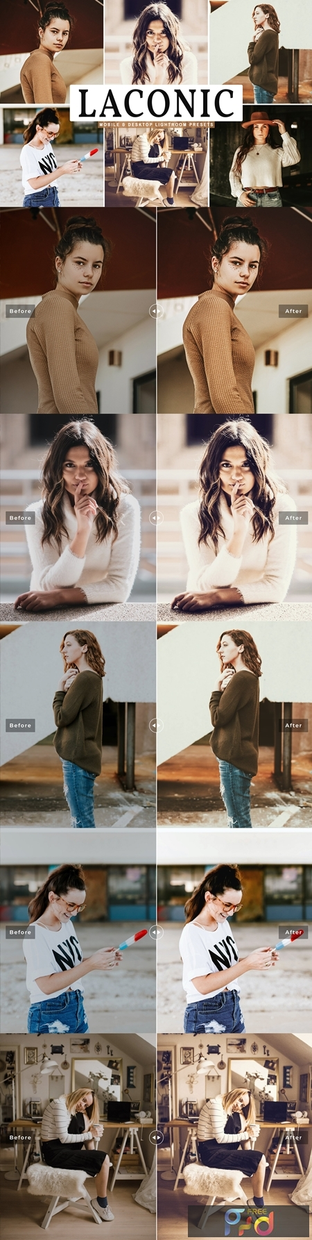 Laconic Mobile & Desktop Lightroom Presets 4657419 1