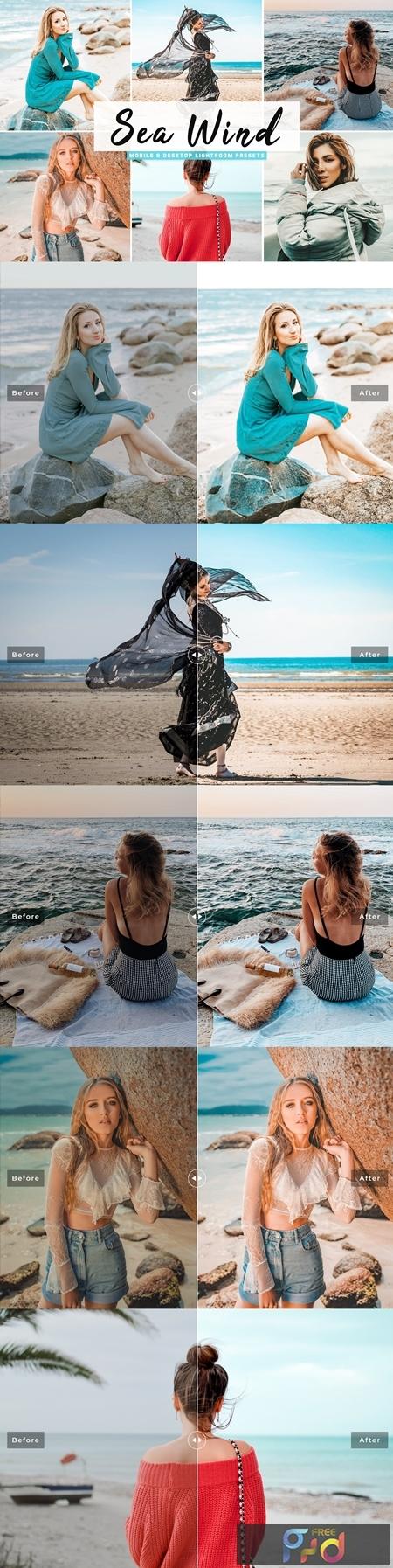 Sea Wind Mobile & Desktop Lightroom Presets 4654979 1