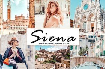 Siena Mobile & Desktop Lightroom Presets 4655644 6