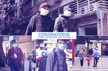 CoronaVirus Photoshop Action 4690784 6