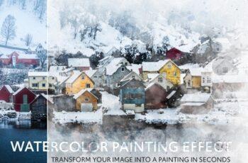 Watercolor Effect Mockup 331051987 4
