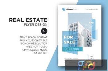 Real Estate Flyer Design 2CLD2F5 3