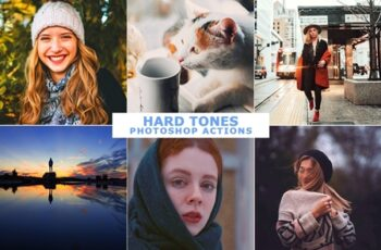 Hard Tones Photoshop Actions 4569401 1
